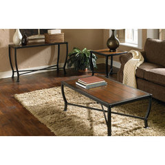 Buy Homelegance Chestnutt 3 Piece Occasional Table Set on sale online
