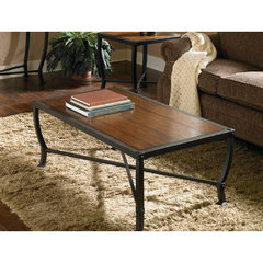 Buy Homelegance Chestnutt 48x28 Cocktail Table on sale online