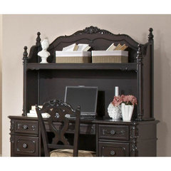Buy Homelegance Cinderella Writing Desk Hutch in Dark Cherry on sale online