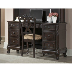 Buy Homelegance Cinderella Writing Desk in Dark Cherry on sale online