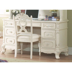 Buy Homelegance Cinderella 50x24 Writing Desk in White on sale online