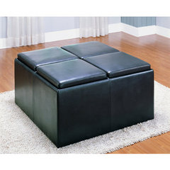Buy Homelegance Clair Bench w/ 4 Ottoman on sale online