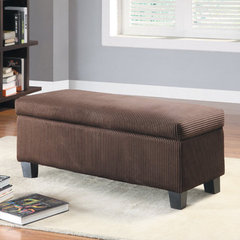 Buy Homelegance Clair Lift-Top Storage Bench in Rich Chocolate on sale online
