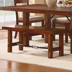 Buy Homelegance Clayton Bench in Dark Oak on sale online
