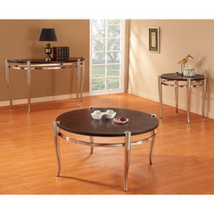 Buy Homelegance Coffey 3 Piece Occasional Table Set in Espresso on sale online
