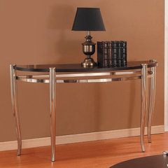 Buy Homelegance Coffey Sofa Table in Espresso on sale online