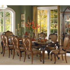 Buy Homelegance Cromwell 9 Piece 76x44 Dining Room Set in Cherry on sale online