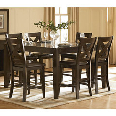 Buy Homelegance Crown Point 7 Piece 60x42 Counter Height Set on sale online