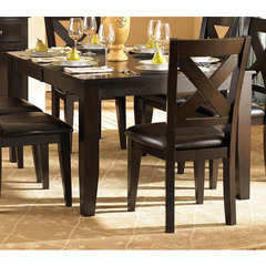 Buy Homelegance Crown Point 60x42 Butterfly Leaf Dining Table on sale online