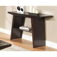 Buy Homelegance Cullum Contemporary 54x18 Rectangular Sofa Table in Espresso on sale online