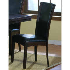 Buy Homelegance Daisy Side Chair in Dark Brown on sale online