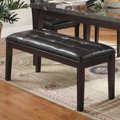 Buy Homelegance 49x18 Inch Decatur Bench in Espresso on sale online
