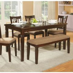 Buy Homelegance Devlin Transitional 60x36 Rectangular Dining Table in Espresso on sale online