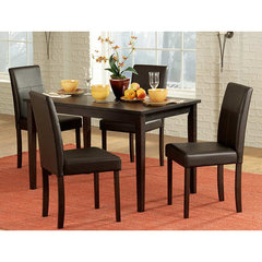 Buy Homelegance Dover 5 Piece 48x30 Dining Room Set in Rich Espresso on sale online