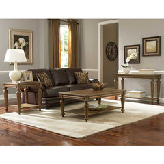 Buy Homelegance Eastover 3 Piece Occasional Table Set in Neutral Gray Driftwood on sale online