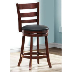 Buy Homelegance Edmond 1144E-24S Swivel Counter Height Stool on sale online