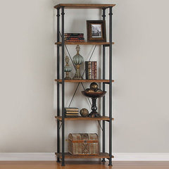 Buy Homelegance Factory Bookcase in Light Oak on sale online