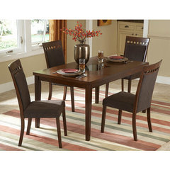 Buy Homelegance Fleming 5 Piece 60x36 Dining Room Set on sale online