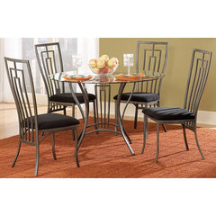 Buy Homelegance Flight 5 Piece 42x42 Dining Room Set in Gunmetal Grey on sale online