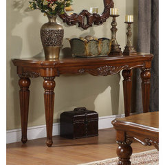 Buy Homelegance Golden Eagle 54x20 Sofa Table on sale online