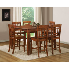 Buy Homelegance Gresham 7 Piece 54x36 Counter Height Set on sale online