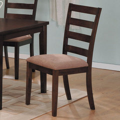 Buy Hale Ladder Back Side Chair in Medium Brown on sale online