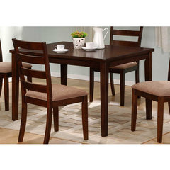 Buy Hale Rectangular 48x36 Dining Table in Medium Brown on sale online