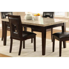 Buy Homelegance Hanh Contemporary 64x38 Rectangular Dining Table in Espresso on sale online