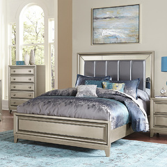 Buy Homelegance Hedy Platform Bed in Graphite Grey on sale online