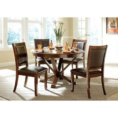 Buy Homelegance Helena 5 Piece 48x48 Dining Room Set on sale online