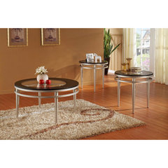 Buy Homelegance Hodges 3 Piece Occasional Table Set on sale online