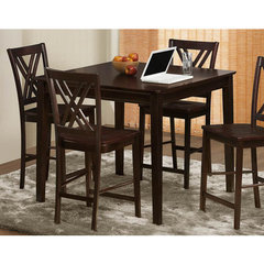 Buy Homelegance Hodges 42x42 Square Counter Height Table in Dark Cappuccino on sale online