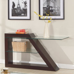 Buy Homelegance Jensen Rectangular 48x19 Sofa Table in Espresso on sale online