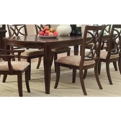 Buy Homelegance Keegan Contemporary 62x42 Rectangular Dining Table in Brown on sale online
