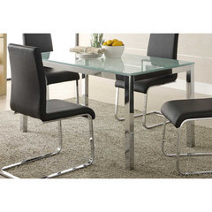 Buy Homelegance Knox Rectangular 25x18 Dining Table in Crackle Gloss on sale online