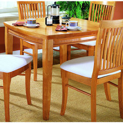 Buy Homelegance Liz 36x36 Dining Table in Oak on sale online