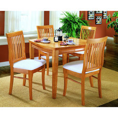 Buy Homelegance Liz 5 Piece 36x36 Dining Room Set in Oak on sale online