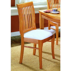 Buy Homelegance Liz Side Chair in Oak on sale online