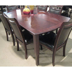 Buy Homelegance Maeve Contemporary 54x38 Rectangular Dining Table in Cherry on sale online