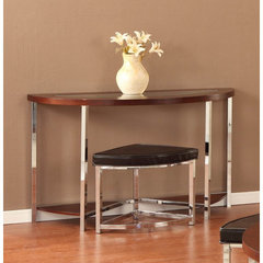 Buy Homelegance Maine 46x18 Sofa Table w/ Ottoman on sale online