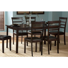 Buy Homelegance Market Rectangular 59x36 Dining Table in Rich Cherry on sale online