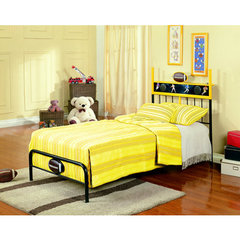 Buy Homelegance Melody Land Twin Football Speaker Metal Bed on sale online