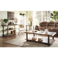 Buy Homelegance Northwood 3 Piece 52x28 Occasional Table Set in Brown on sale online