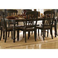 Buy Homelegance Ohana 60x42 Dining Table in Antique Black on sale online