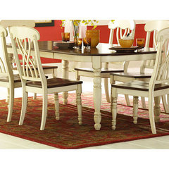 Buy Homelegance Ohana 60x42 Dining Table in Antique White on sale online