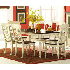 Buy Homelegance Ohana 7 Piece 60x42 Dining Room Set in Antique White on sale online