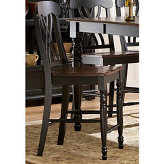 Buy Homelegance Ohana Counter Height Stool in Antique Black on sale online