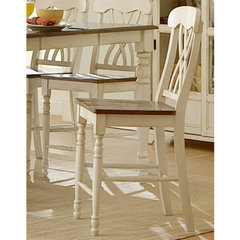 Buy Homelegance Ohana 24 Inch Counter Height Stool in Antique White on sale online