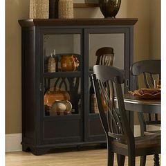 Buy Homelegance Ohana Curio in Antique Black on sale online