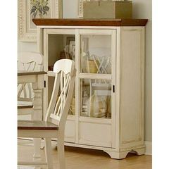 Buy Homelegance Ohana Curio in Antique White on sale online